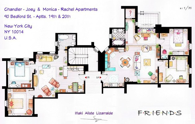 Friends floor plan