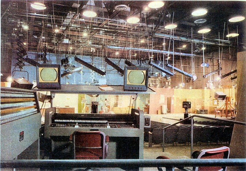 CBS Television City Studio 33 c1953